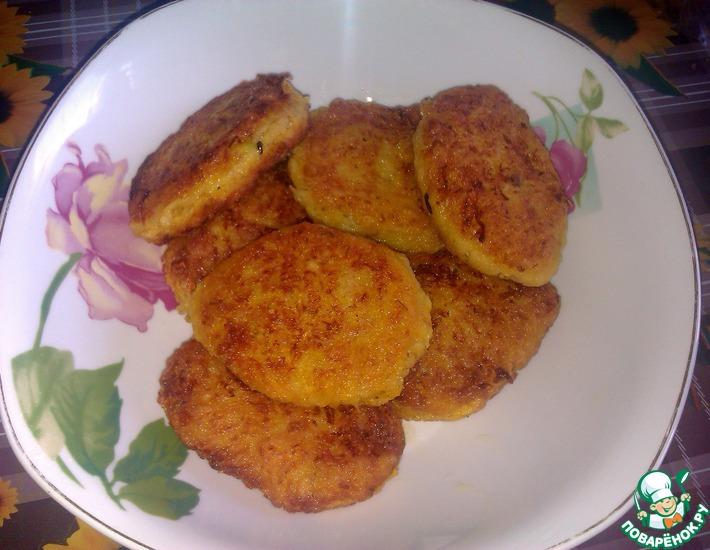 Постные тыквенные котлеты – кулинарный рецепт