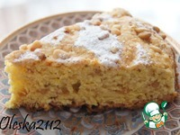 Финикийский пирог с манкой и куркумой ингредиенты