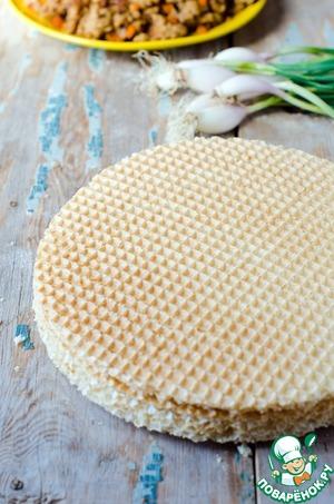 Мясной пирог с щавелем – кулинарный рецепт