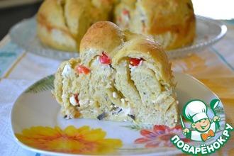 Рецепт: Болгарский пирог с брынзой