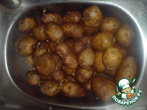 Картошку моем молодую или старую