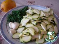 Салат из цуккини ингредиенты