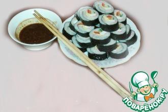 Рецепт: Ким Паб (корейские роллы)