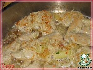 Паста с куриным соусом – кулинарный рецепт