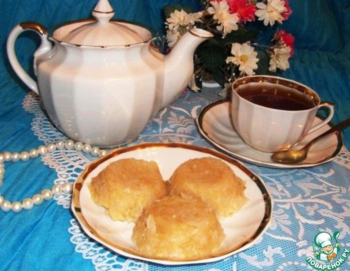 Рецепт: Яблочное суфле с рисовыми хлопьями