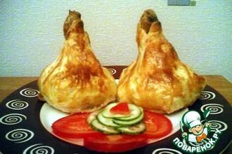 """Рецепт: Куриные голени """"Снаряд"""""""