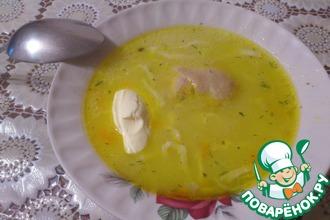 Рецепт: Суп-лапша любимой бабушки
