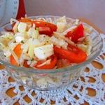 Капустный салат с базиликом