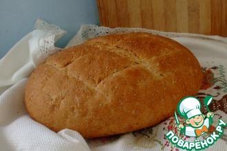 Рецепт: Хлеб пшенично-ржаной от Ришара Бертине