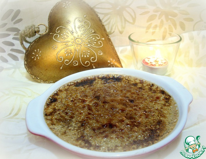 Рецепт: Шоколадный крем-брюле