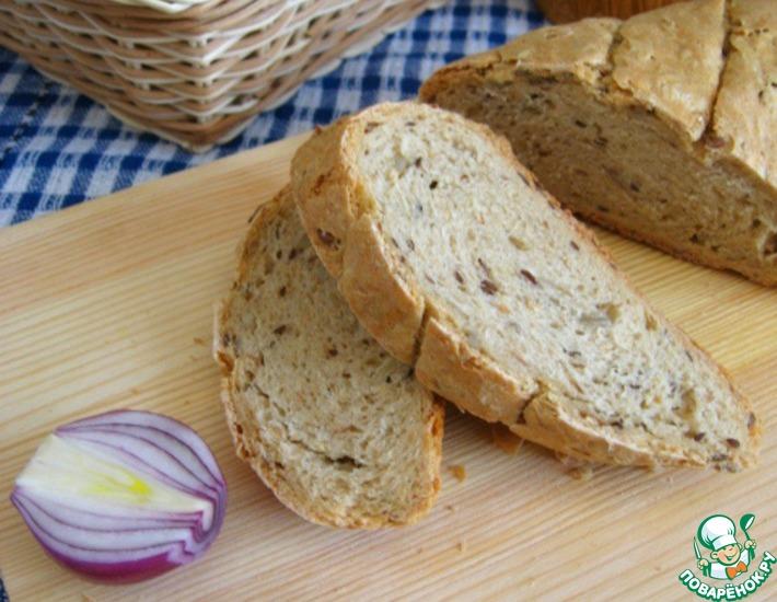 Рецепт: Многозерновой постный хлеб