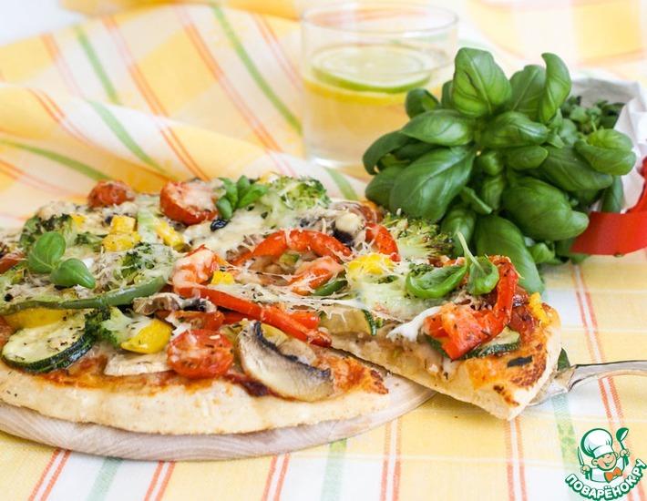 Рецепт: Пицца Примавера