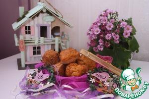 Рецепт Морковно-имбирные кексы с изюмом и орехами пекан