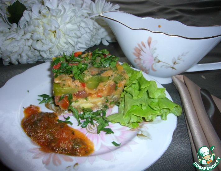 Рецепт: Мармелад из баклажанов, кабачков и помидоров