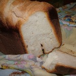 Простейший белый хлеб на закваске
