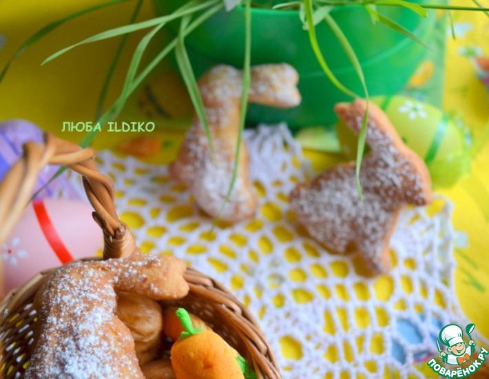 Рецепт: Пасхальные зайцы-фанки
