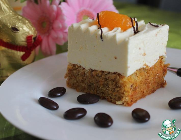 Рецепт: Пирог морковно-мандариновый