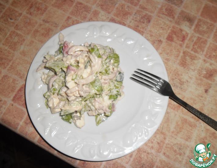Рецепт: Салат Весенний