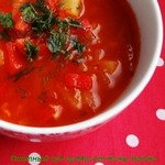 Суп овощной постный – кулинарный рецепт