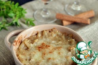 Рецепт: Луковый суп с корицей Карабачча
