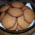 Простое мягкое овсяное печенье