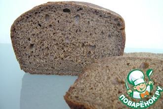 Рецепт: Ржано-пшеничный на закваске с солодом и тмином