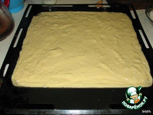 Кокосовый пирог Buttermilchschnitten