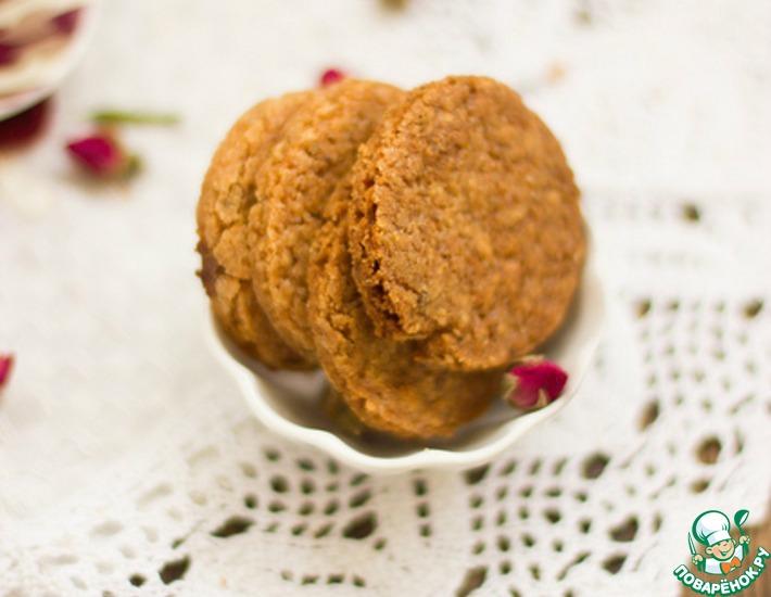 Рецепт: Овсяное печенье по ГОСТу