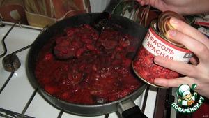 """Тушеные овощи  """"Краснее некуда"""" – кулинарный рецепт"""