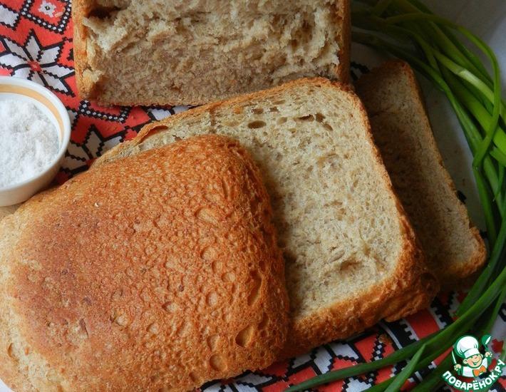 Рецепт: Многозерновой хлеб постный