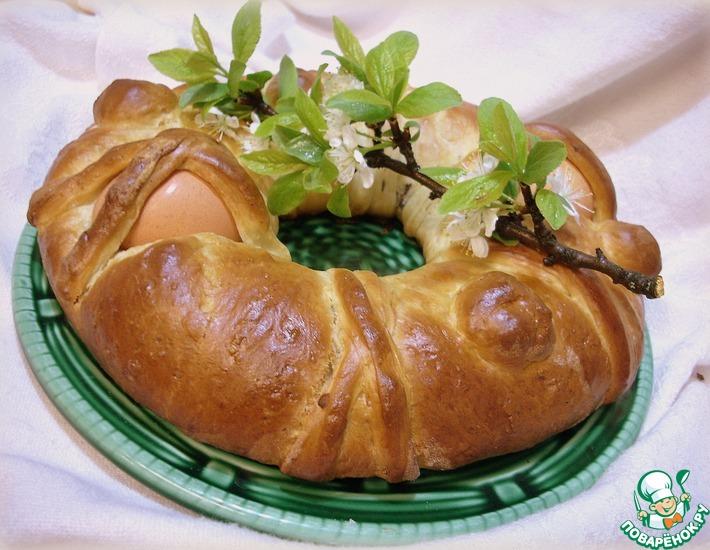 Рецепт: Корсиканская пасхальная бриошь
