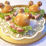 Сэндвичи Лягушки