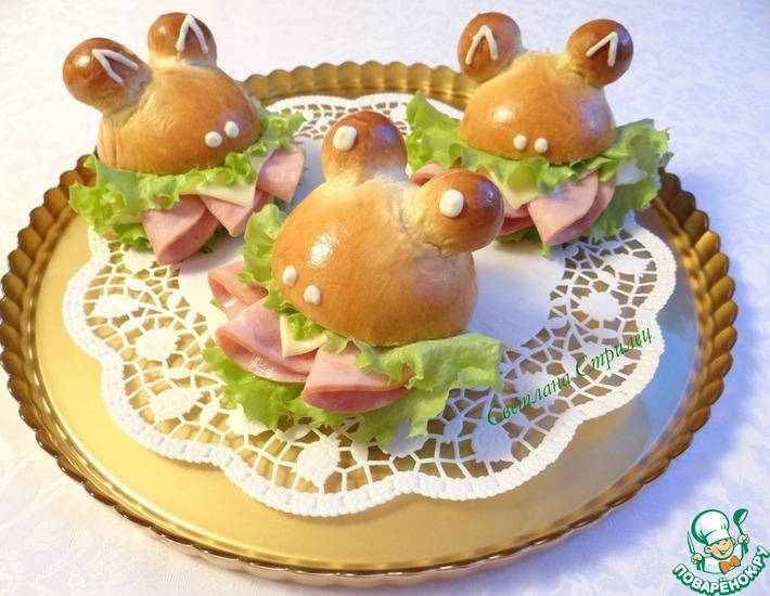 Рецепт: Сэндвичи Лягушки