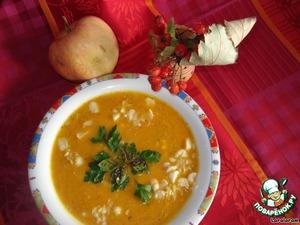 """Тыквенный суп """"Бархатный"""" – кулинарный рецепт"""