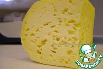 Рецепт: Домашний твердый сыр