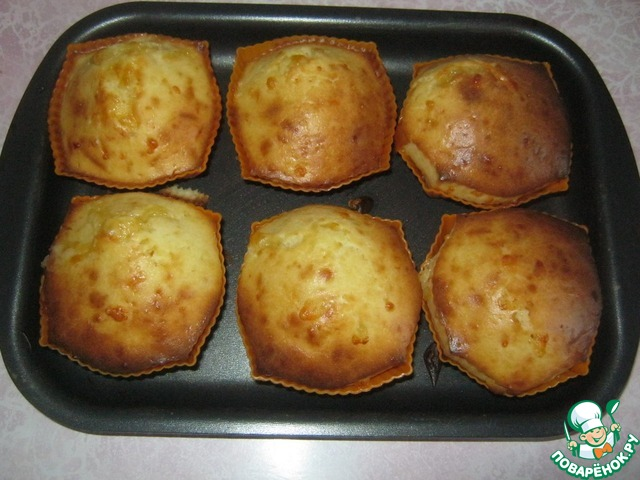 Сырные кексики – кулинарный рецепт