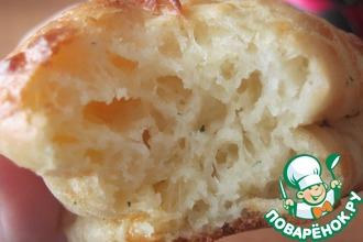 Рецепт: Сырные кексики