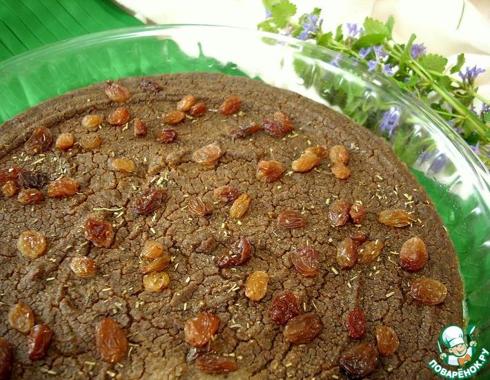 Рецепт: Пирог Кастаньяччо из каштановой муки