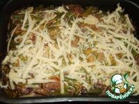 Запеканочка с мясом, грибами и фасолькой ингредиенты