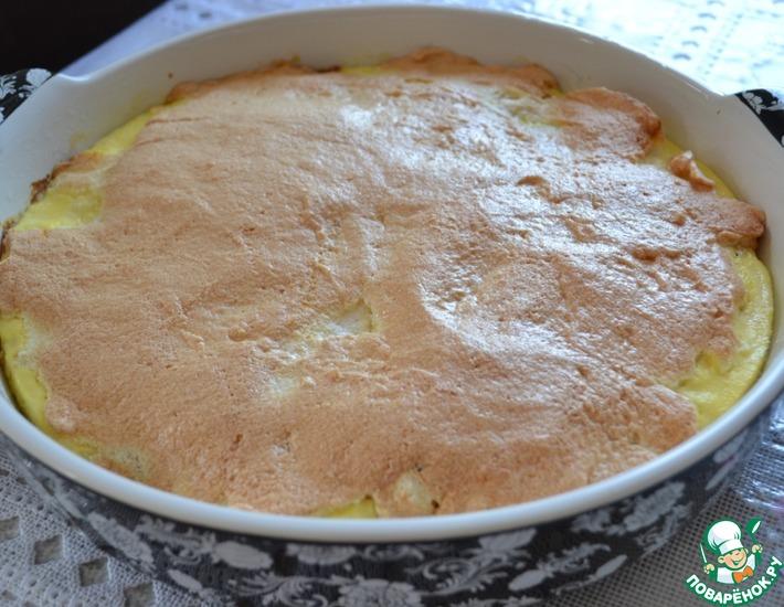 Нежный творожный десерт