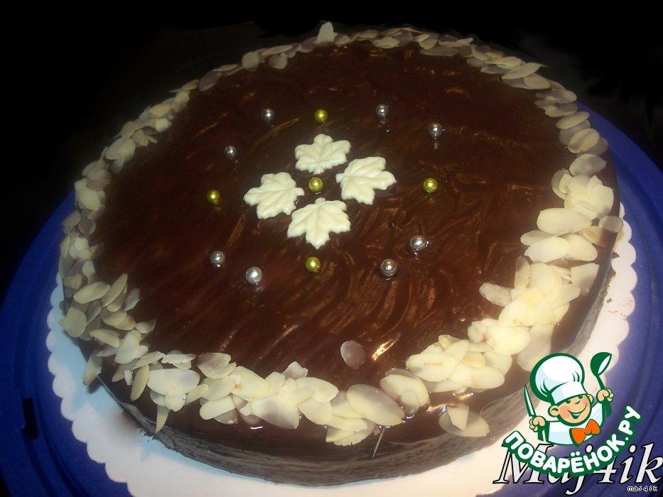Торт Шоколадно-вишнeвая сказка