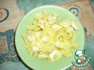 нарезать перец сладкий