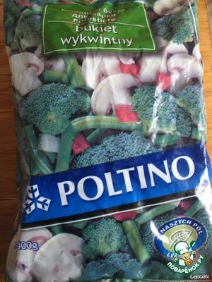 Взять любые замороженные овощи...