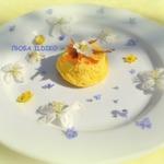 Суфле с сыром рикотта и с весной