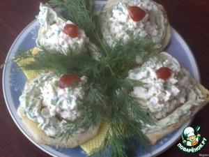 Красиво выкладываем на тарелку или блюдо. Украшаем зеленью.   Приятного аппетита!