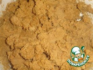 Горчичный порошок просеять, залить кипятком (примерно 150 мл), чтобы получилась густая масса, как тесто.