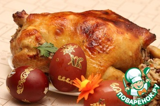 Рецепт: Курица праздничная