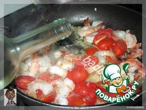 Креветки в сливочном соусе – кулинарный рецепт