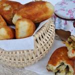 Пирожки с папоротником и капустой по-камчатски