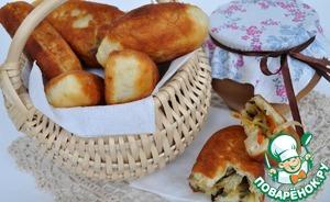 Рецепт Пирожки с папоротником и капустой по-камчатски